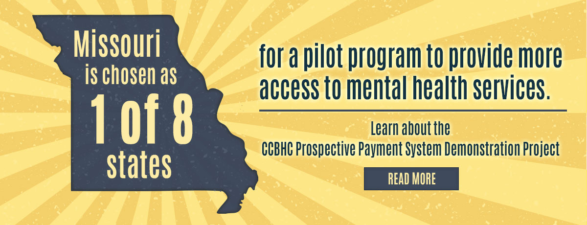 Missouri chosen for pilot program to provide more access to mental health services