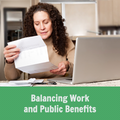 Balancing Work and Public Benefits
