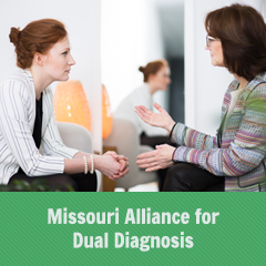 Missouri Alliance for Dual Diagnosis Photo Button