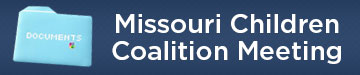Missouri children coalition button